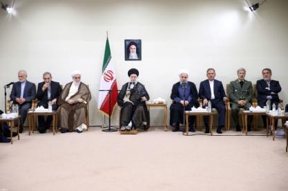 دیدار رئیسجمهور و اعضای هیئت دولت :: Leader.ir