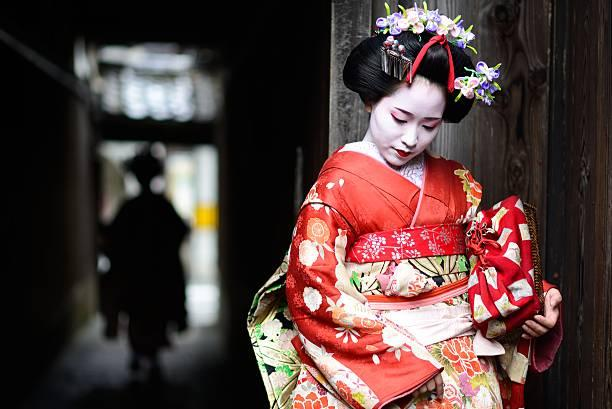 Young maiko in Kyoto