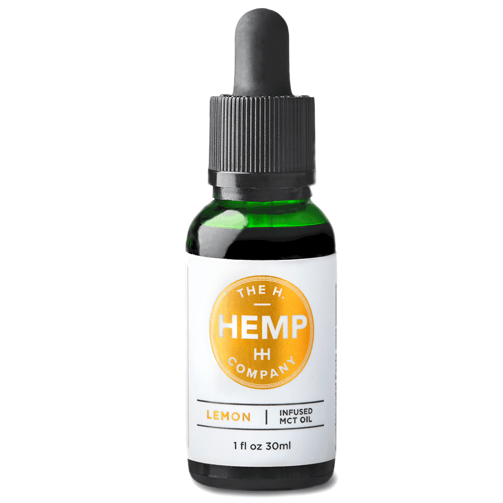 Honest Hemp CBD Full-spectrum CBD Oil Tincture Lemon