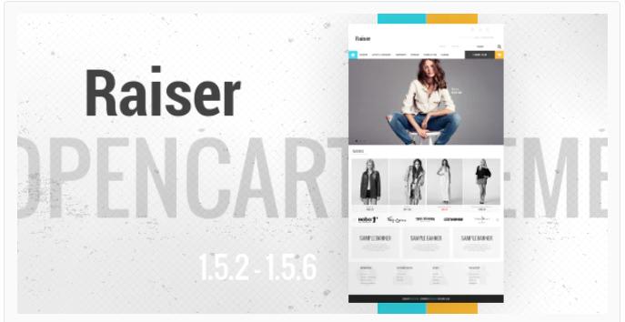 Raiser - Opencart premium theme