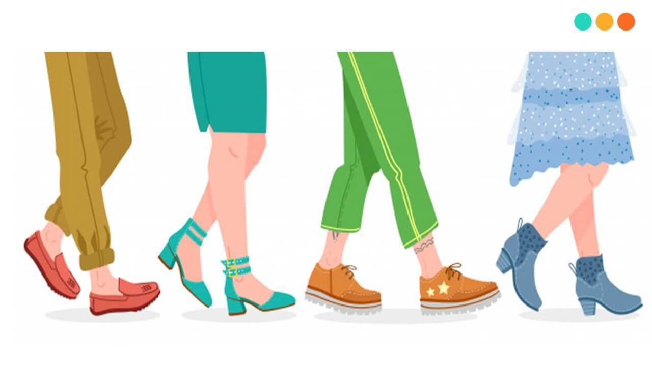 20+ từ vựng miêu tả giày dép trong tiếng Anh - Step Up English