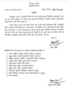 Rajasthan Kisan Karj Mafi 2019 Yojana