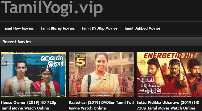 TamilYogi download watch latest new hd tamil movies online