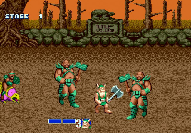 Image result for golden axe genesis