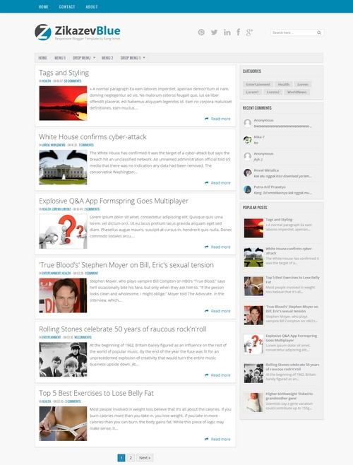 45 Best Free Blogger Templates 2014 – All of Java