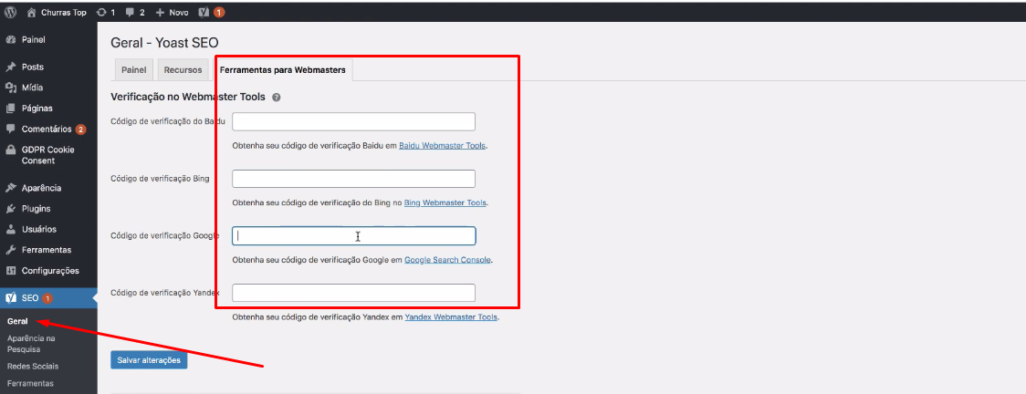 ferramenta para webmsters