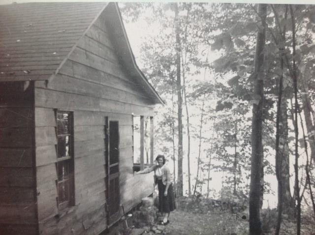 Isobel Wright before electricity and running water
