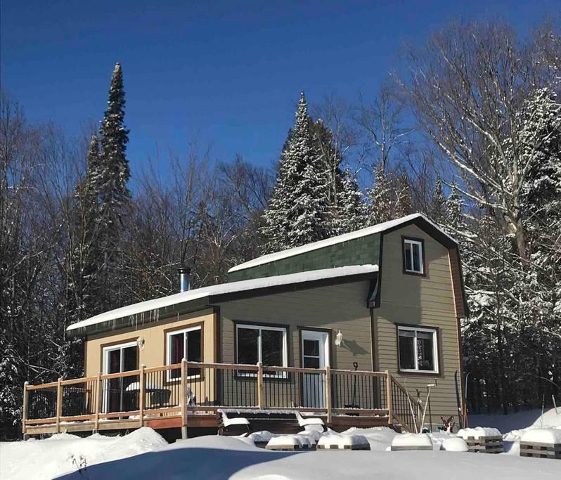 Ski in - ski out cottages for rent in Quebec #19