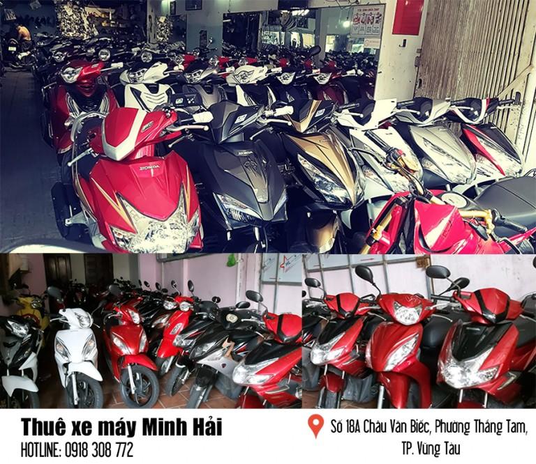 Dịch vụ cho thuê xe máy tại Vũng Tàu
