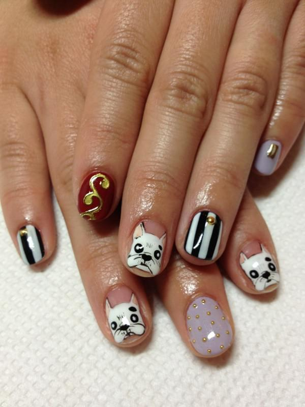 cute nail designs creem (71)