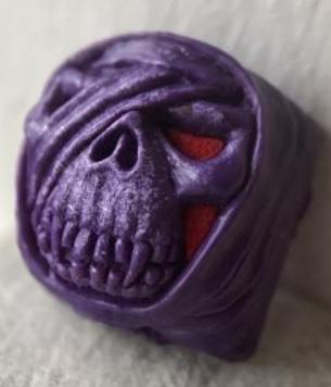 Artkey - Purple & Red Mumkey