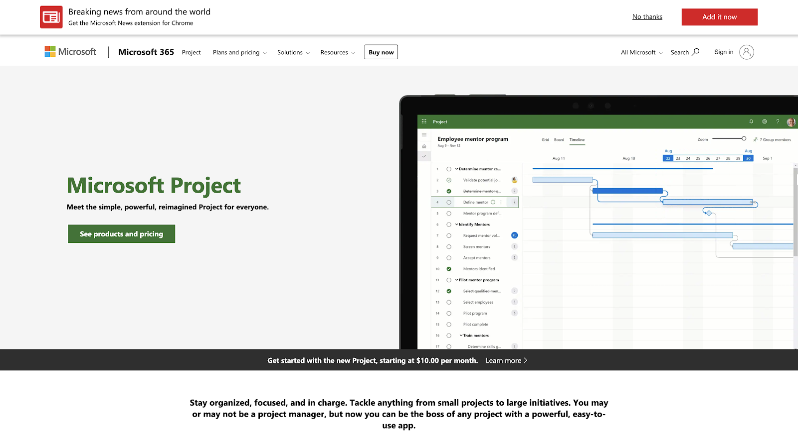 Microsoft Project - Meet the simple, powerful, reimagined Project for everyone