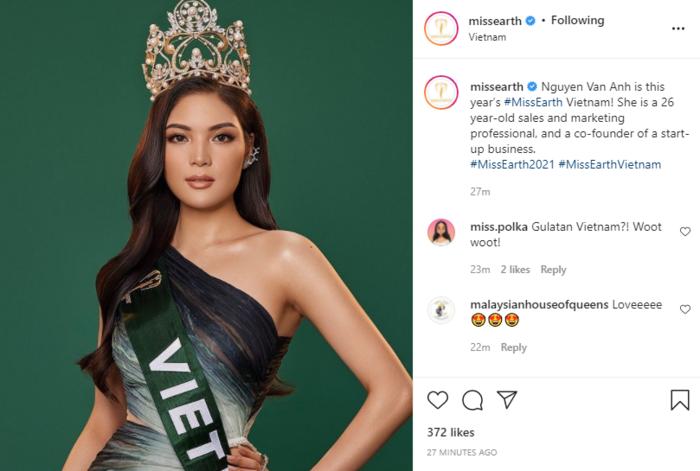 Top 45 MUV 2019 Vân Anh đại diện Việt Nam tại Miss Earth 2021 khiến fan tròn mắt ngỡ ngàng Ảnh 2