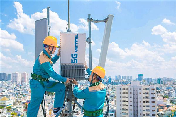Tập đoàn Viettel triển khai thử nghiệm mạng lưới 5G trên toàn quốc