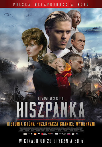 Polski plakat filmu 'Hiszpanka'
