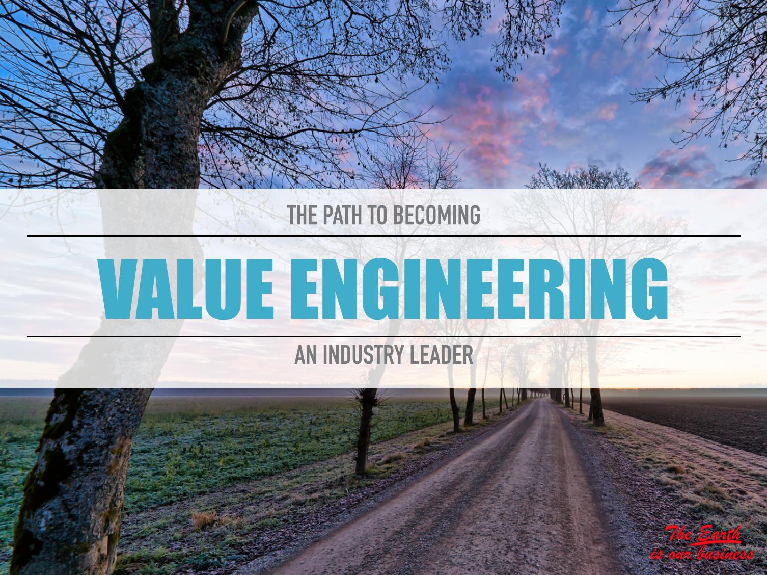 Practicing value engineering madrid engineering group for Value engineered