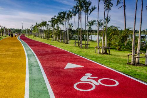 características de mobilidade em cidades verdes sustentáveis