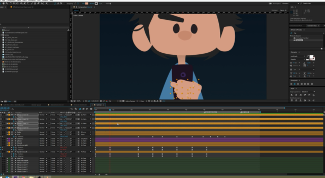 Phần mềm làm video animation After Effect