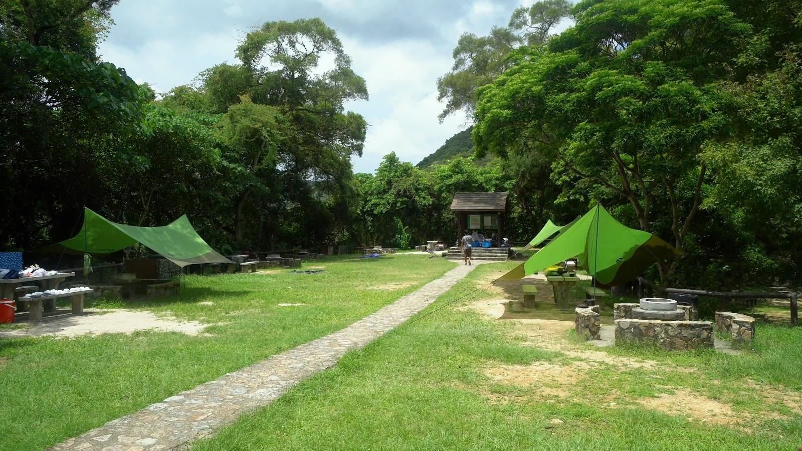 親子露營-鶴藪營地