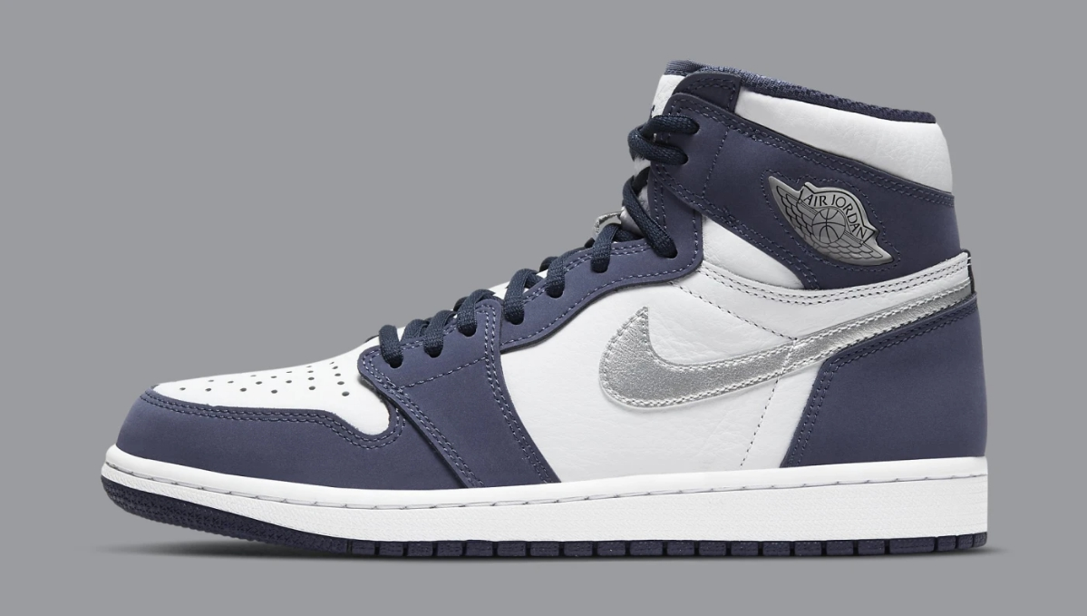 Air Jordan 1 Retro High OG CO.JP 'Midnight Navy,' Style Code: DC1788-100