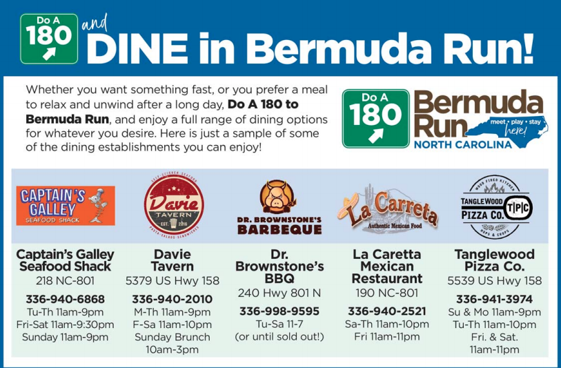 places to eat in bermuda run