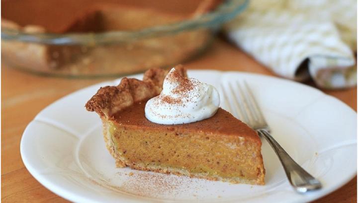 thanksgiving potluck recipe - Pumpkin pie