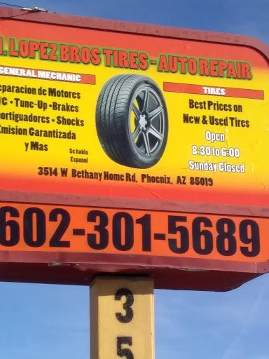 Used Tires Phoenix >> H Lopez Bros Tires Used Tire Shop In Phoenix