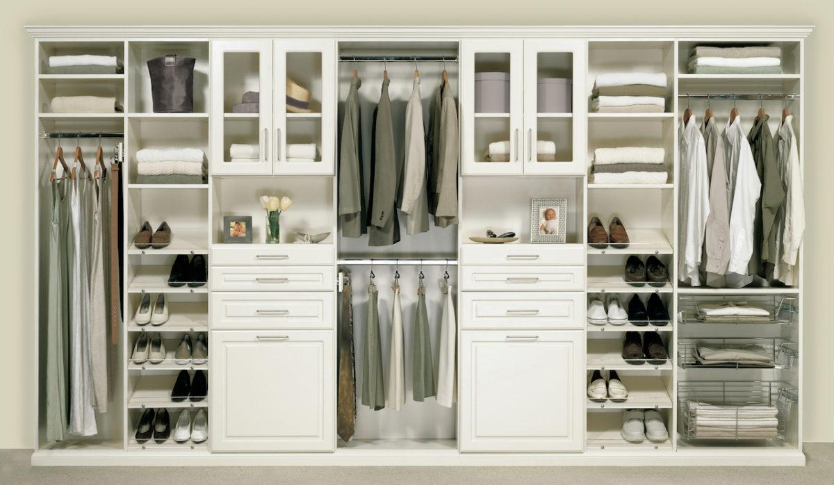 closet organizado em casa