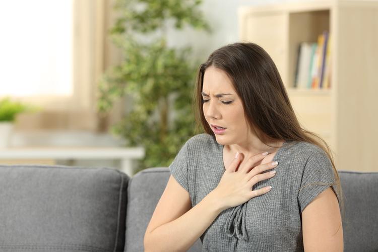 Suy hô hấp mạn khiến bệnh nhân khó thở