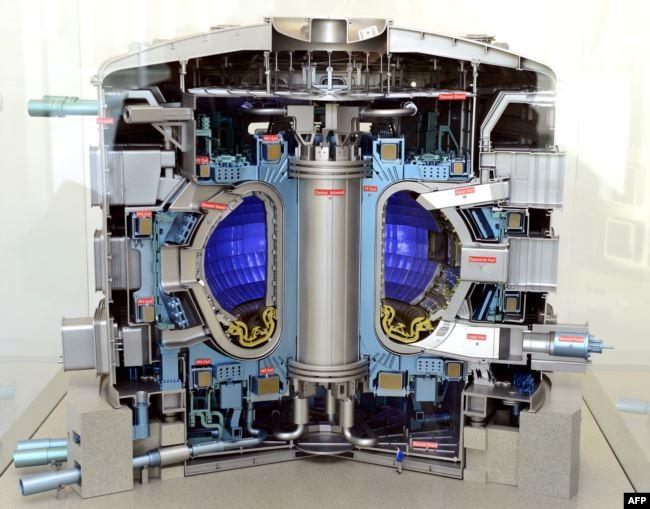 Модель реактора ITER