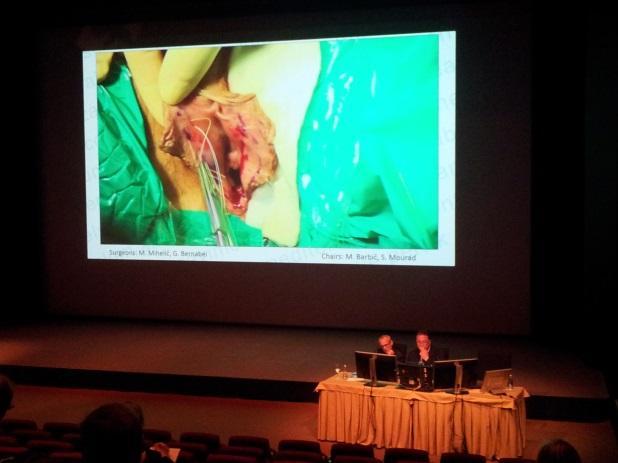 Prenos operacije v živo iz UKC LJ