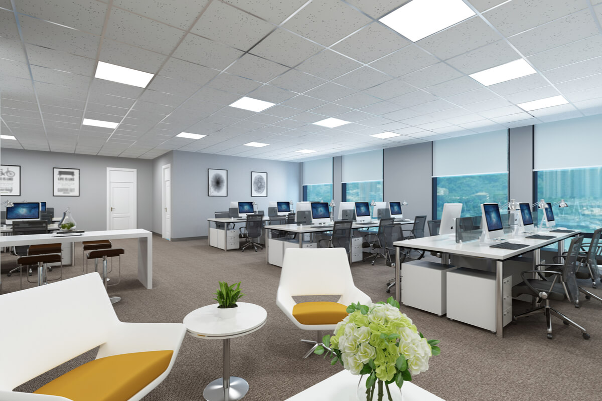 Iluminatul spațiilor de birouri - sfaturi pentru agenții comerciali - ledel.ro
