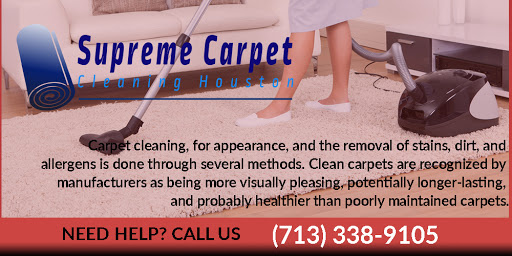 Supreme Carpet Cleaning Houston - Carpet Cleaning Service