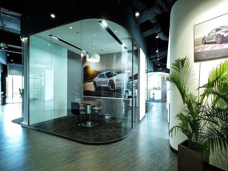 Một khu họp kín của Porsche Việt Nam