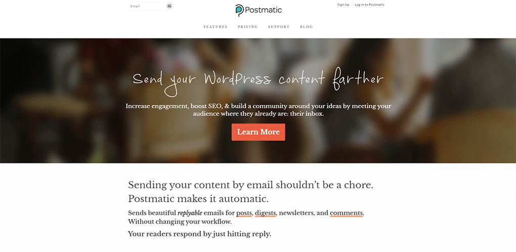 postmatic plugin de comentarios do wordpress