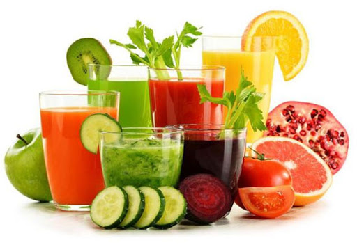 These are cold press juices made from the best cold fresh juicers.