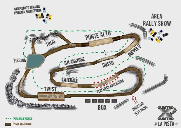 4x4 Fest, pronte nuova pista esterna e attività sul litorale © ANSA