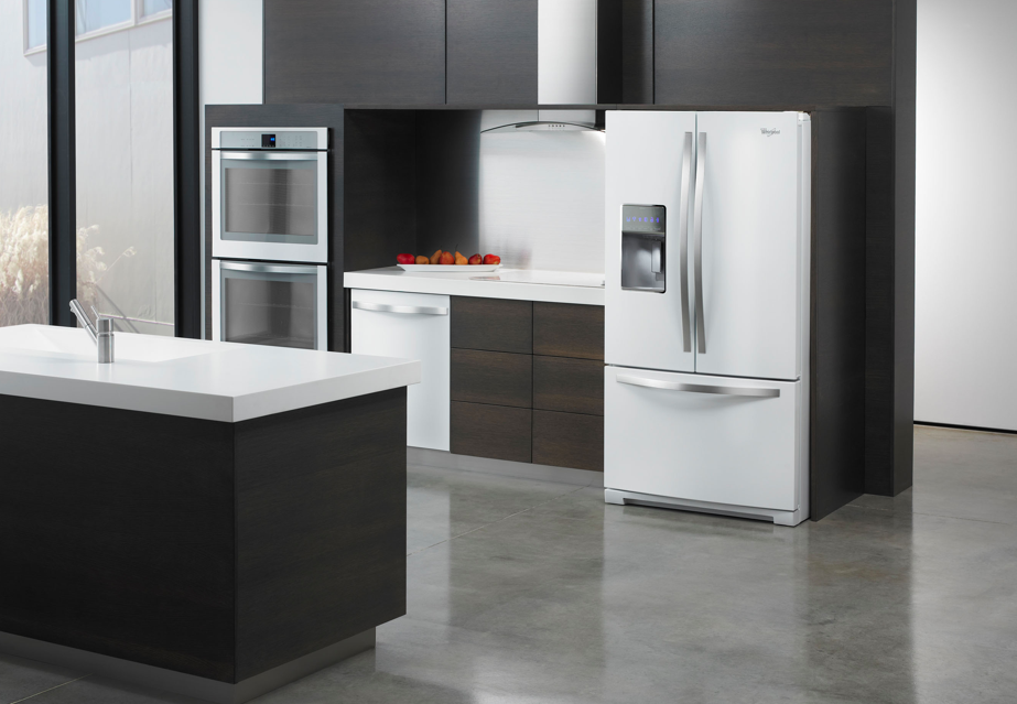 New White Appliances ~ Trend textures white ice the new stainless steel