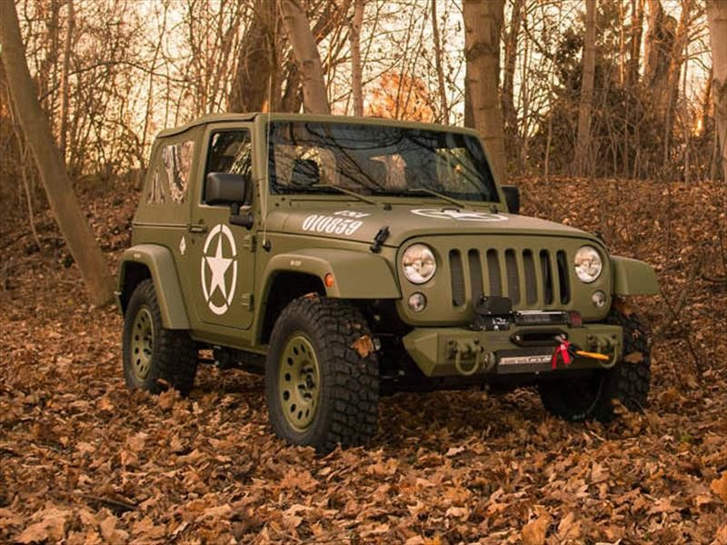 Jeep Wrangler Willys front view