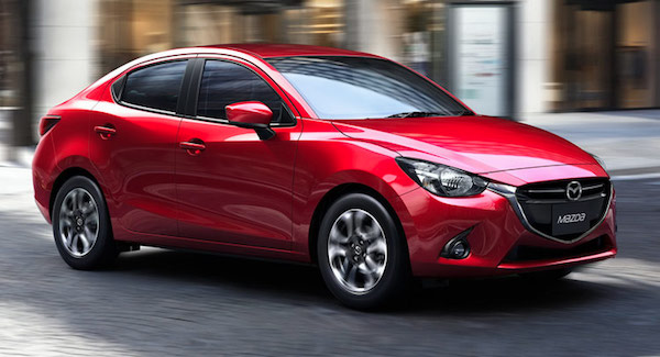 Mazda Mazda2 Sedan 2017