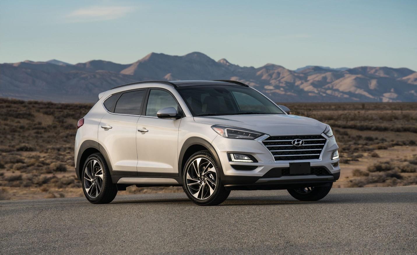 10 SUV-uri noi pe care ți le poți cumpăra cu mai puțin de 20.000 de euro - Hyundai Tucson