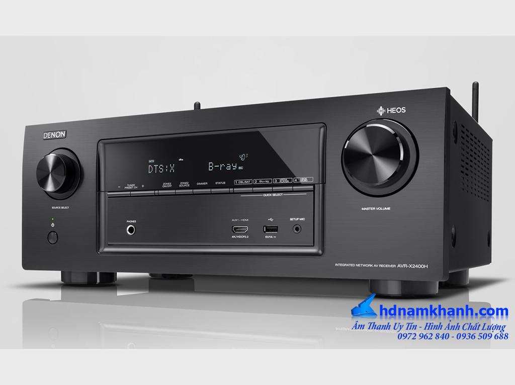 Amply Denon AVR X2400h, X3400h, X4400h - Thông minh, tiện ích