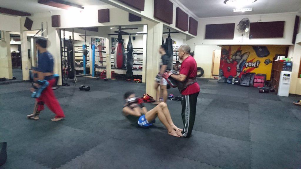 Kemang Fight Gym training