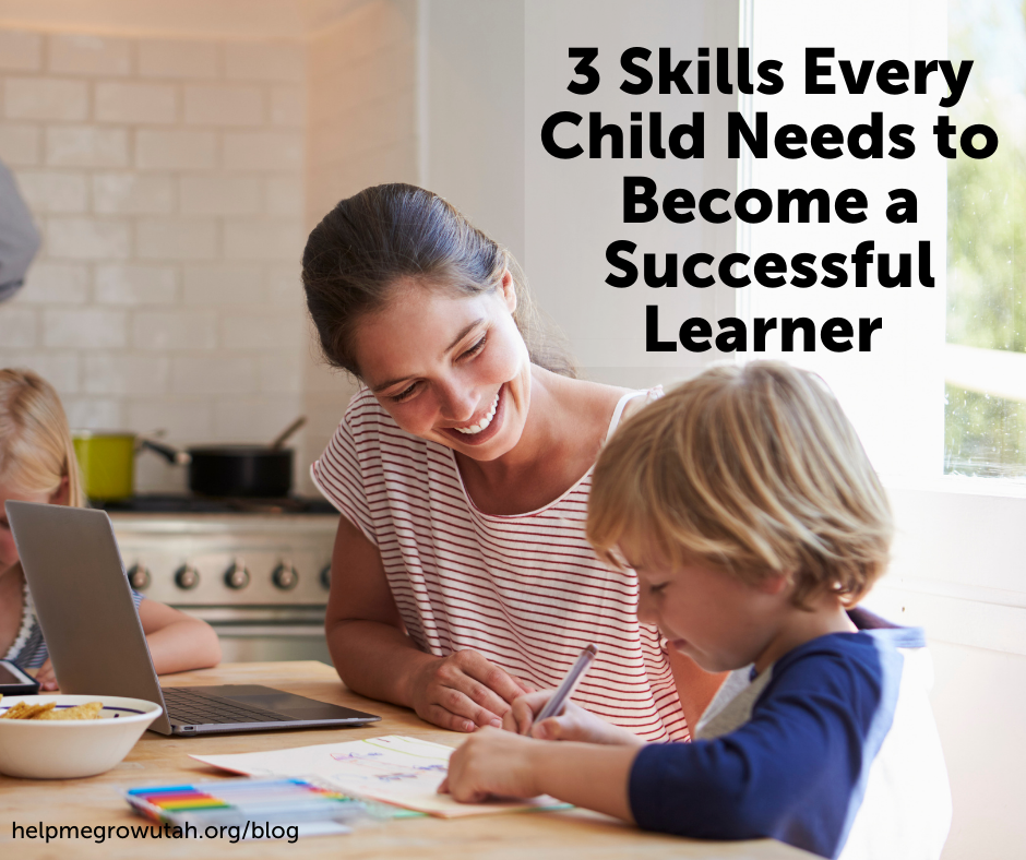 Guest Blogger: 3 Skills Every Child Needs to Become a Successful Learner