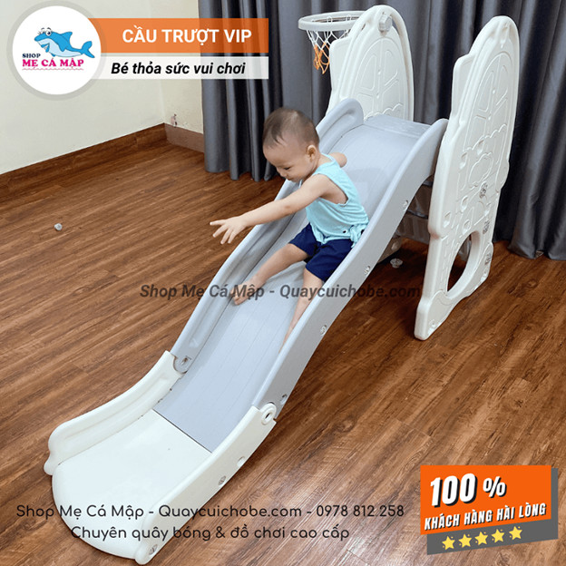 Cầu trượt cho bé VIP cho bé dày và nặng