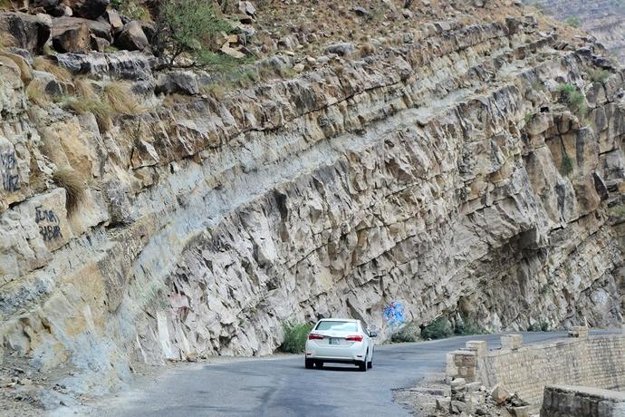 Road Towards Fort Munro DG Khan