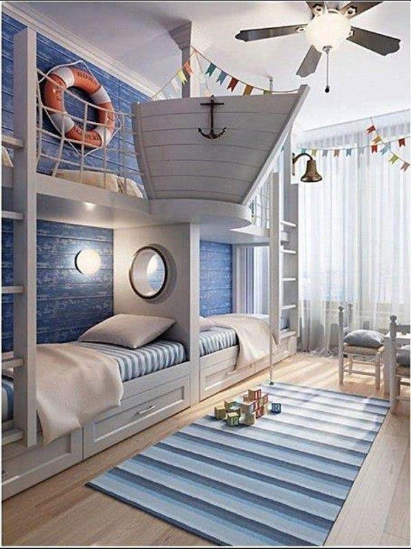 Nautical Bunk Bedroom Ideas