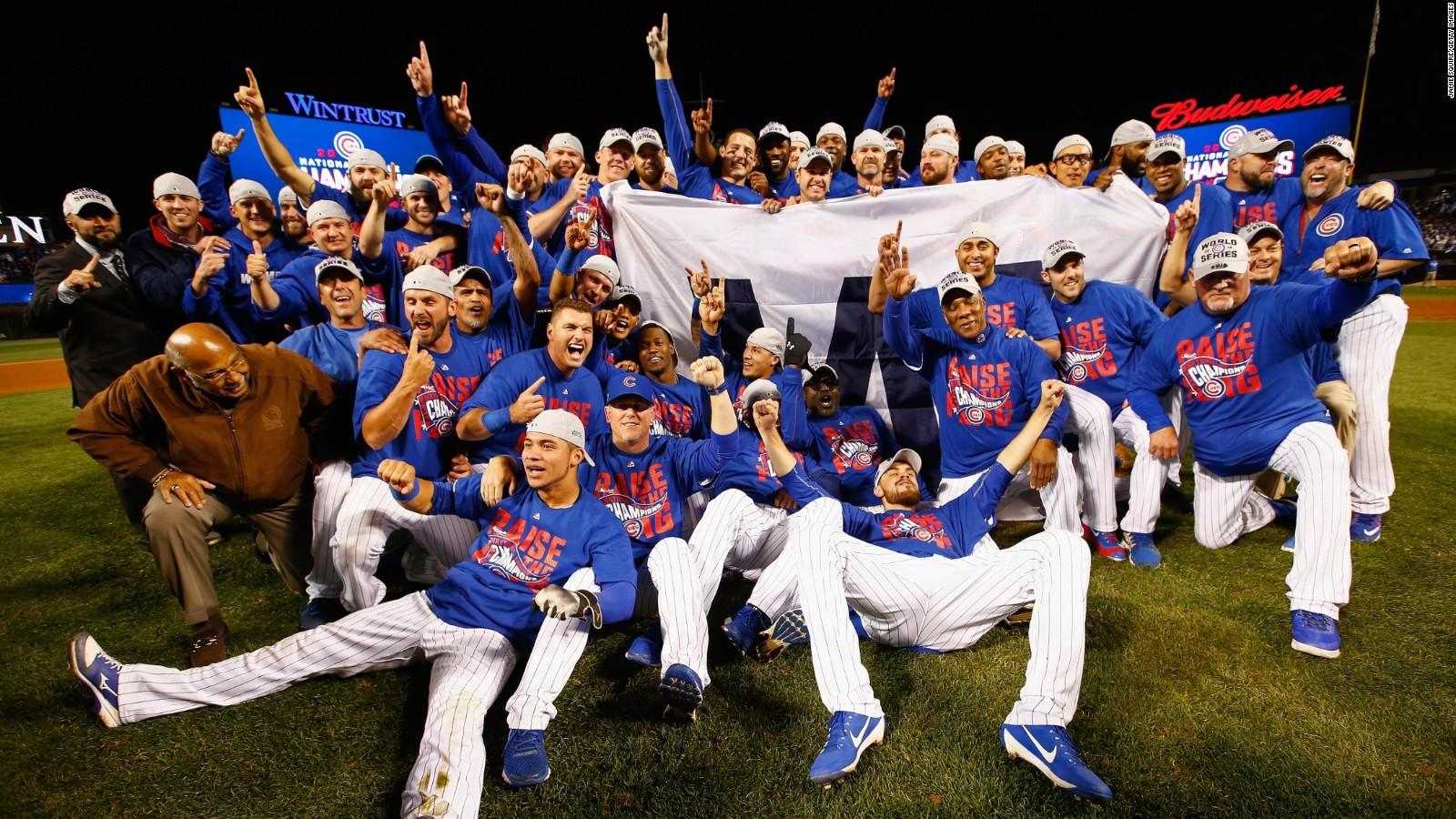 Sau 108 năm, cuối cùng thì Cubs đã giành được một chức vô địch thế giới khác