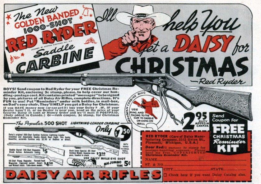 A carbine for Christmas