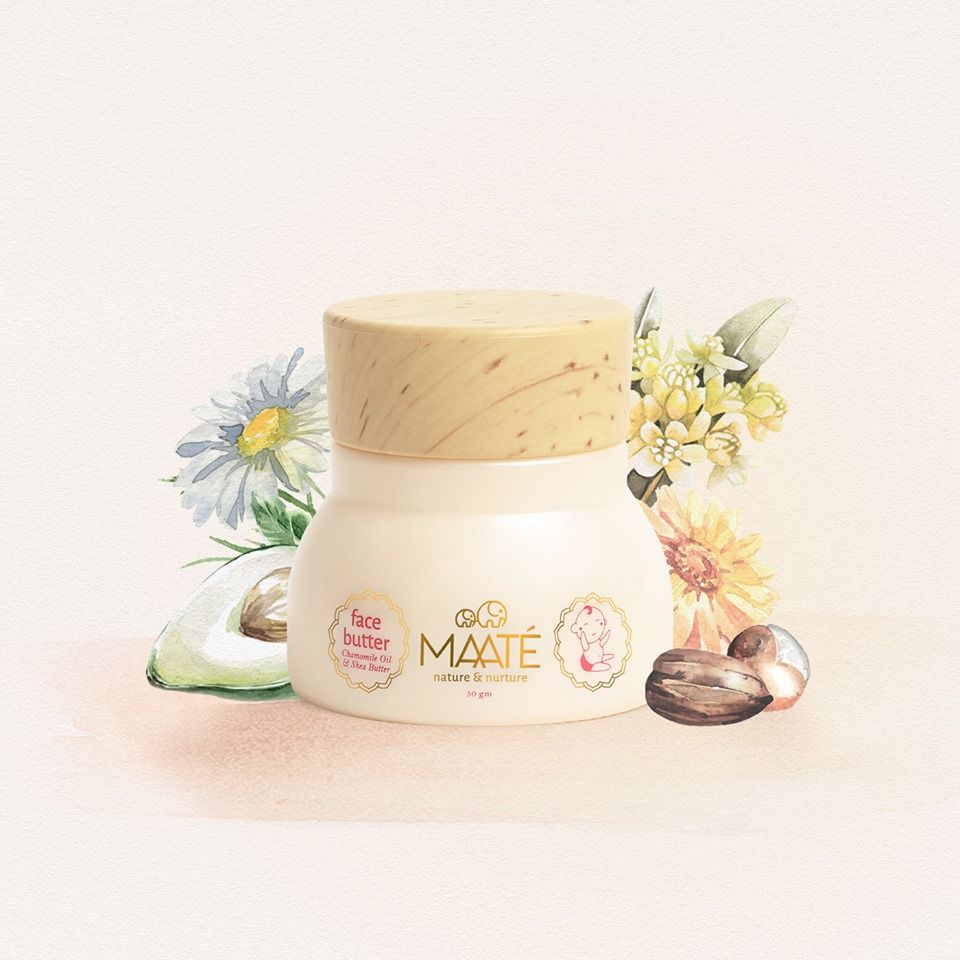 Top natural baby care products, try Maaté's Baby face Butter